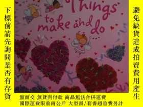 二手書博民逛書店英文原版罕見Valentine Things to Make a