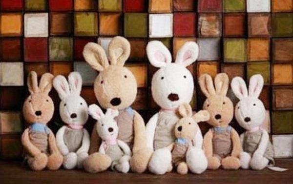 娃娃屋樂園~Le Sucre法國兔砂糖兔(LOHA吊帶褲款)30cm250元另有45cm60cm90cm