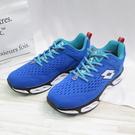 LOTTO AIR FLOW 4 男款慢跑鞋 編織鞋面 避震 LT1AMR3596 藍色【iSport愛運動】