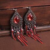 民族風波西米亞裝飾耳墜飾品氣質耳飾