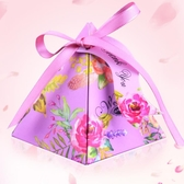 歐式結婚用品創意個性糖盒紙盒婚慶禮盒糖果盒婚禮喜糖袋20個裝