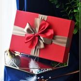 新年禮品盒精美簡約禮物盒子衣服禮盒包裝盒【聚可愛】