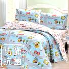 【鴻宇HONGYEW】美國棉/防蹣抗菌寢具/台灣製/雙人四件式薄被套床包組-177808
