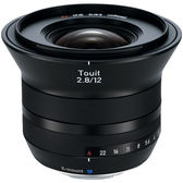 6期零利率 Zeiss 蔡司 Touit 2.8/12mm For X-mount 12mm F2.8 公司貨