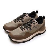 LIKA夢 LOTTO 專業防水郊山戶外越野跑鞋 FALCO隼系列 咖棕黑 2551 男