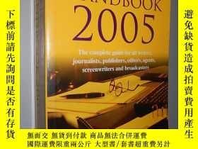 二手書博民逛書店The罕見Writer s Handbook 2005 (Wri