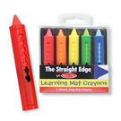 美國瑪莉莎5色可水洗蠟筆 洗澡蠟筆