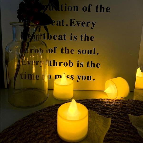 發光創意求婚電子蠟燭LED