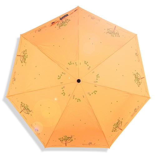 【RainSKY】艾蜜莉夢境-手繪感_自動傘 /傘 雨傘 折疊傘 遮陽傘 大傘 抗UV傘 防風 洋傘