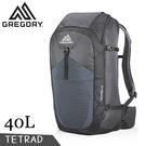 【GREGORY 美國 TETRAD 旅行背包《像素黑》40L】121118/雙肩背包/後背包/登山背包/自助旅行