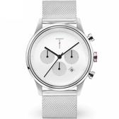 【台南 時代鐘錶 TYLOR】自由探索精神 風格多變時尚腕錶 TLAC008 米蘭帶 43mm