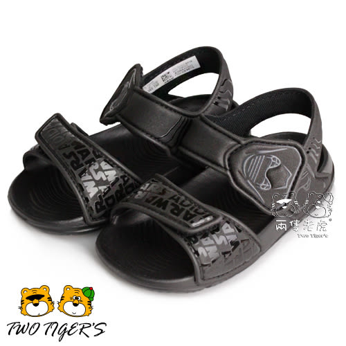 ADIDAS Star Wars 星際大戰 黑色 魔鬼氈 小童 兒童涼鞋 NO.Y1191