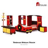 床架 桌椅 衣櫃 Kid's Neverland 湯瑪士小火車全系列組【DD House】
