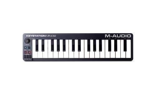 【敦煌樂器】M-AUDIO Keystation Mini32II 迷你32鍵主控鍵盤