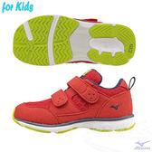 MIZUNO美津濃 HUG MOCK 童鞋(紅)適合4~10歲孩童