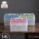 樹德手提箱工具箱醫藥箱5.8L化妝箱整理盒收納盒TB702-大廚師百貨