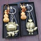 鑰匙圈 12十二生肖狗牛雞豬鼠吉祥物創意金屬鑰匙扣?圈掛件男士女生情侶 店慶降價