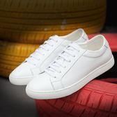 男鞋子 休閒鞋 夏季新款小白鞋韓版潮流英倫百搭運動男潮鞋板鞋《印象精品》q1474