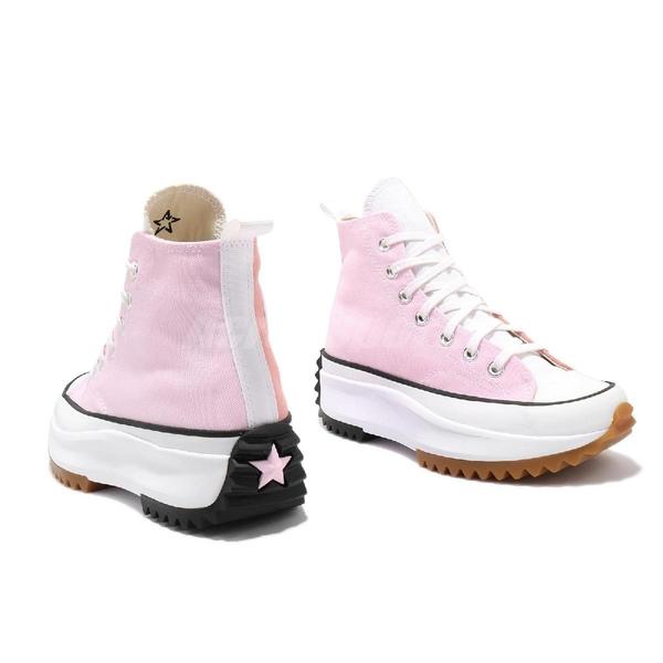 Converse 休閒鞋 Statement Flow Run Star Hike 粉紅 粉色 女鞋 鋸齒鞋 厚底 帆布鞋 【ACS】 170968C