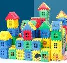 拼圖兒童積木拼圖益智拼裝玩具大顆粒房子動腦模型【淘嘟嘟】