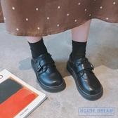 娃娃鞋女 原宿小皮鞋女學生正韓百搭大頭鞋復古日系軟妹娃娃單鞋潮 HD