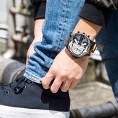 DIESEL Mr Daddy 2.0 內斂魅力大錶面皮革腕錶 DZ7394 熱賣中!
