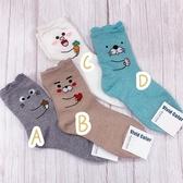 立體耳朵 可愛動物襪 愛心襪子 告白襪 角落生物 長筒襪 韓國襪子