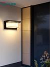 戶外壁燈防水人體感應庭院燈大門樓道LED室外過道露臺墻壁陽臺