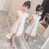 女童連身裙旗袍裙夏裝公主洋裝洋氣小女孩女寶寶童裝兒童裙子夏季 GD1457『紅袖伊人』