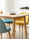 簡約現代家用餐椅網紅化妝椅梳妝北歐ins風靠背椅子