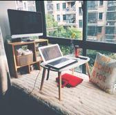 簡約現代飄窗桌 榻榻米小圓桌 日式小茶幾 小戶型飄窗小書桌 矮桌