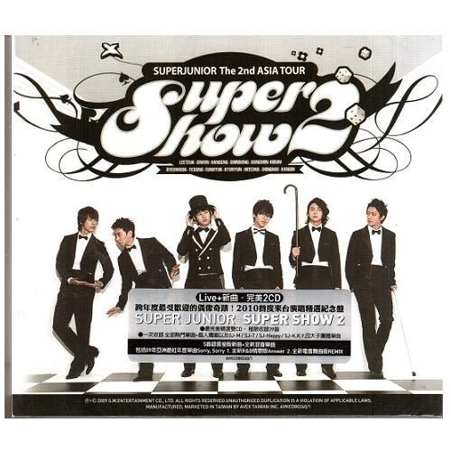 Super Junior SUPER SHOW 2 雙CD(購潮8)
