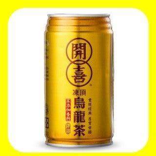 【開喜】凍頂烏龍茶340ml,48罐/2箱【合迷雅好物超級商城】