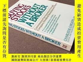 二手書博民逛書店Buying罕見stocks without a broker