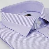 【金‧安德森】紫色變化領窄版短袖襯衫