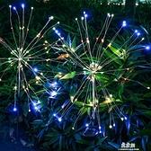 太陽能燈兩件裝地插銅線燈煙花燈蒲公英燈串 易家樂