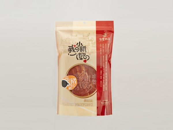 【唯豐】 蒜味豬肉紙 120公克/包 x2包
