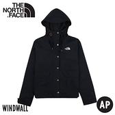 【The North Face 女 WIND 防風外套《深藍》】4NEY/風衣/休閒外套/連帽夾克