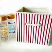 收納盒    可愛圖騰收納整理箱(22L) 刺蝟 鯨魚 文具 收納箱   【BNA031】-收納女王