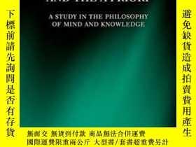 二手書博民逛書店Cognition,罕見Content, And The A PrioriY256260 Robert Han