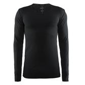【速捷戶外】瑞典Craft 1903716 全天候長袖內著衣(男)-黑色, 滑雪 跑步 路跑 野跑 馬拉松 夜跑