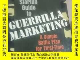 二手書博民逛書店startup罕見guide to guerrilla mark