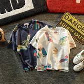 優布童 韓版男童2018新款潮衣夏裝短袖兒童衣服男寶寶T恤棉質潮童 雙11大促