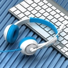 頭戴式耳機 兒童耳機頭戴式可愛有線耳麥網課帶話筒學生降噪學習【快速出貨八折鉅惠】