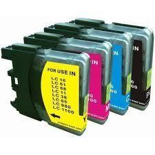 brother相容墨水匣LC61/LC67/LC38 黑藍黃紅 單顆任選 適用MFC-290C/490CW/5490CN/6490CW/255CW/190C/375CW/990CW/5890CN