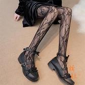 絲襪女漁網襪薄款蕾絲襪打底連褲襪性感襪子【橘社小鎮】