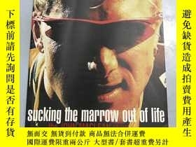 二手書博民逛書店sucking罕見the marrow out of lifeY218789