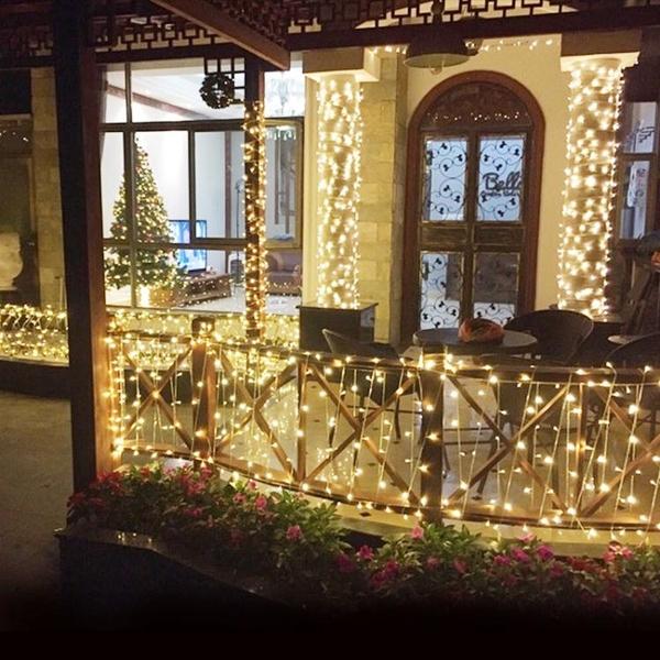 LED小彩燈閃燈串燈滿天星七彩變色網紅燈房間布置裝飾燈星星燈串 小明同學