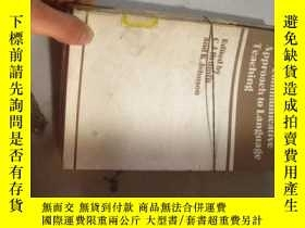 二手書博民逛書店THE罕見COMMUNICATIVE APROACH TO LA