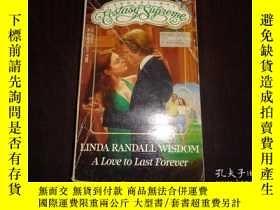 二手書博民逛書店ALOVE罕見TO LAST FOREVER,Linda Ran